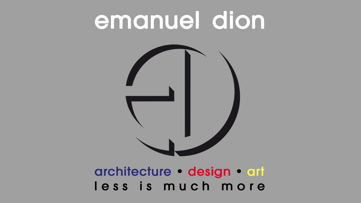 emanuel dion, architecture • design • art
